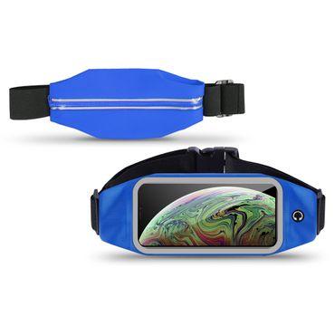 Tasche Bauchtasche für Apple iPhone Xs Max Hüfttasche Jogging Hülle Gürtel Case – Bild 2