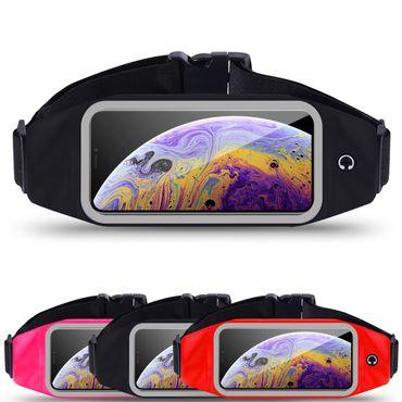 Tasche Bauchtasche für Apple iPhone Xs Hüfttasche Sport Hülle Lauf Case Jogging – Bild 1
