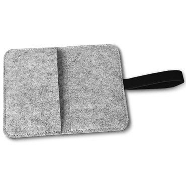 Handy Tasche Huawei Mate 20 Lite Filz Hülle Smartphone Cover Etui Schutz Case – Bild 20