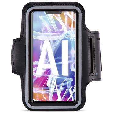 Lauf Tasche Huawei Mate 20 Lite Hülle Sportarmband Jogging Armcase Fitness Case  – Bild 2