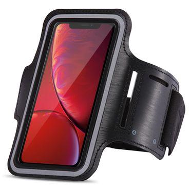 Jogging Tasche für Apple iPhone Xr Hülle Sportarmband Lauf Armcase Fitness Case  – Bild 3