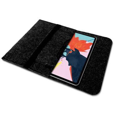 Tablet Tasche Apple iPad Pro 12.9 2018 Sleeve Hülle Filz Cover Schutzhülle Case – Bild 3