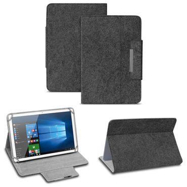 Tablet Tasche für Lenovo Tab P10 Filz Hülle Schutzhülle Case Schutz Cover Stand – Bild 9