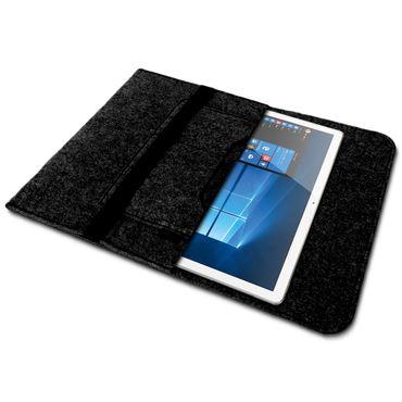 Tablet Tasche für Lenovo Tab P10 Sleeve Hülle Filz Cover Schutzhülle Schutz Case – Bild 9