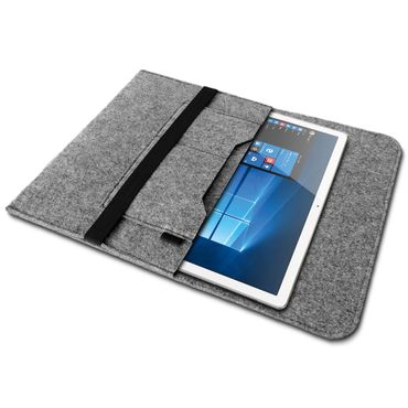 Tablet Tasche für Lenovo Tab P10 Sleeve Hülle Filz Cover Schutzhülle Schutz Case – Bild 3