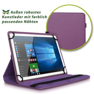 Tablet Hülle für Lenovo Tab E10 Schutztasche Cover Tasche Case Etui 360° Drehbar – Bild 21