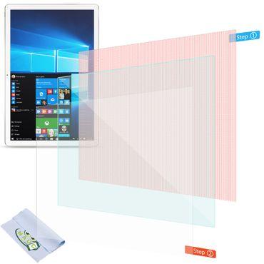 2x Displayschutzfolie Trekstor Surftab B10 Schutzfolie Uni Displayfolie Folie – Bild 1