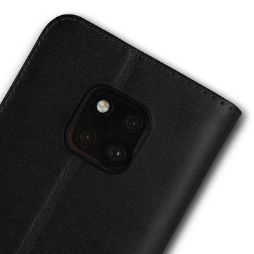 Leder Hülle für Huawei Mate 20 Pro Flip Case Handy Tasche Slim Book Schutz Cover – Bild 8