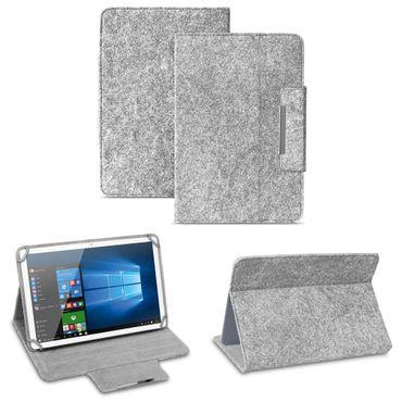 Filz Hülle für 9.7 - 10.1 Zoll Tablet Tasche Schutzhülle Case Schutz Stand Cover