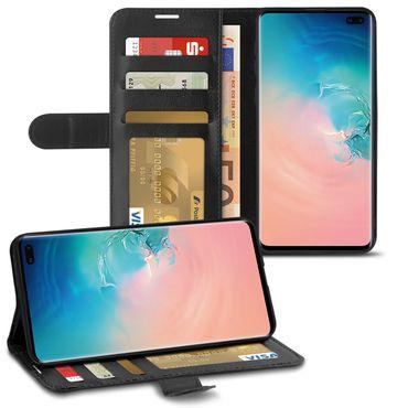 Schutzhülle Samsung Galaxy S10 / Plus S10e A20e A40 A50 Hülle Tasche Book Case – Bild 10