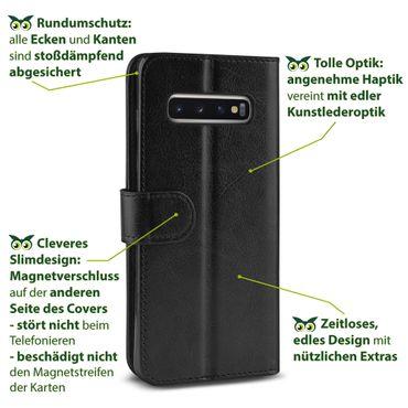 Hülle für Samsung Galaxy S10 Plus S10 S10e Tasche Flip Case Cover Schutzhülle  – Bild 6
