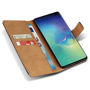 Leder Hülle für Samsung Galaxy S10 Plus S10e A20e A40 A50 A70 Schutzhülle Tasche – Bild 15
