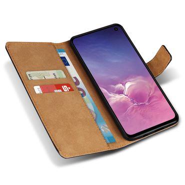 Leder Hülle für Samsung Galaxy S10e Tasche Book Cover Handy Flip Case Klapphülle – Bild 6