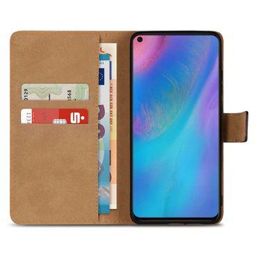 Leder Hülle Huawei P30 Pro Tasche Book Cover Handy Flip Slim Case Schutzhülle – Bild 3