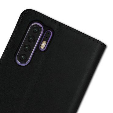 Leder Hülle Huawei P30 Pro Tasche Book Cover Handy Flip Slim Case Schutzhülle – Bild 10