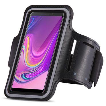 Schutzhülle für Samsung Galaxy A9 2018 Hülle Tasche Sportarmband Jogging Armcase – Bild 3