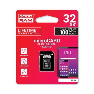 Speicherkarte + Adapter GoodRam Ultra 32GB UHS-I microSDXC Class 10 bis 100MB/s – Bild 6