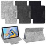 Samsung Galaxy Tab S5e Tablet Tasche Filz Hülle Schutzhülle Schutz Case Cover 001