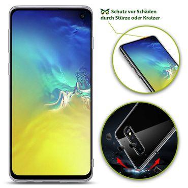 Hülle Bumper Samsung Galaxy S10e S10 / Plus Tasche Schutzhülle Slim Silikon Case – Bild 7