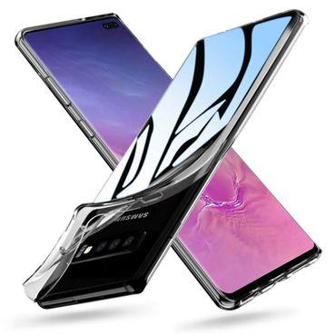 Hülle Bumper Samsung Galaxy S10 Plus Tasche Schutzhülle Slim Silikon Case Schale – Bild 1