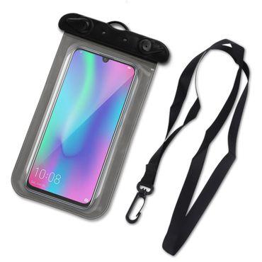 Handy Tasche für Huawei Honor 10 Lite Schutzhülle Hülle Wasserdichte Wasserfest  – Bild 2