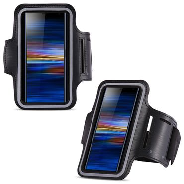 Hülle für Sony Xperia 10 Jogging Armcase Fitness Sportarmband Tasche Handy Case  – Bild 1