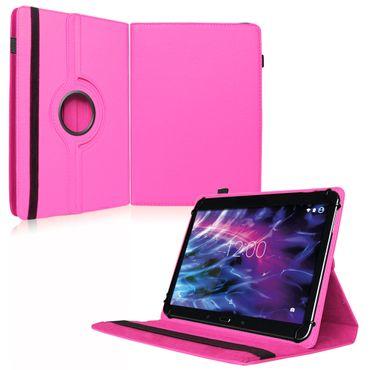 Medion Lifetab P9702 Tablet Tasche Hülle Pink Cover Case Schutzhülle 360 Drehbar – Bild 1