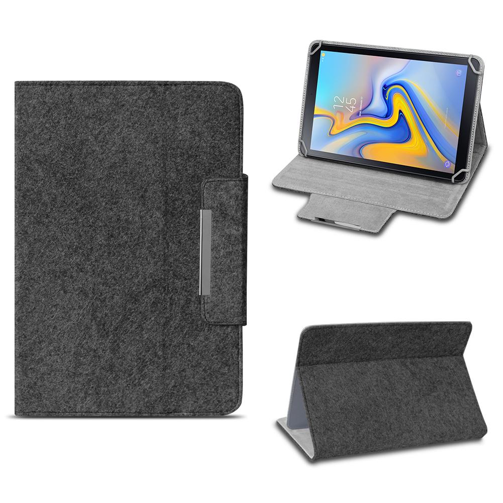 Tablet Tasche Samsung Galaxy Tab A 10.1 2019 Hülle Filz Case Schutz Cover Case Notebooktaschen Handys & Kommunikation