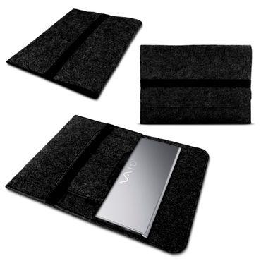 Notebook Hülle für Vaio A12 Schutz Tasche Filz Cover Schutzhülle Laptop Case – Bild 8