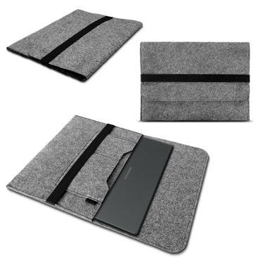 Notebook Hülle für Medion Akoya P17601 Schutz Tasche Filz Cover Case Schutzhülle – Bild 2