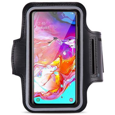 Schutzhülle Samsung Galaxy A70 2019 Hülle Tasche Sportarmband Jogging Armcase – Bild 2