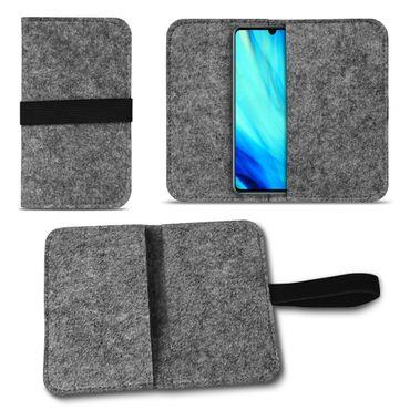 Filz Tasche für Huawei P30 Hülle Schutz Cover Case Handy Schutzhülle Filztasche – Bild 9