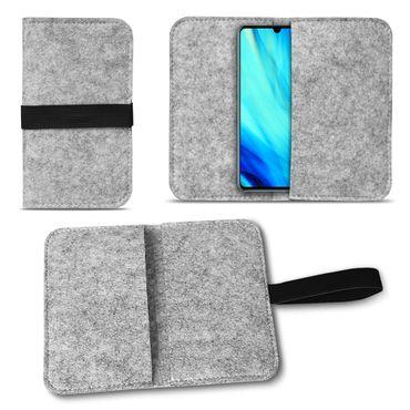 Filz Tasche für Huawei P30 Hülle Schutz Cover Case Handy Schutzhülle Filztasche – Bild 15