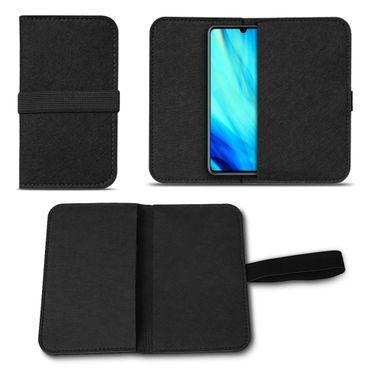 Filz Tasche für Huawei P30 Hülle Schutz Cover Case Handy Schutzhülle Filztasche – Bild 3