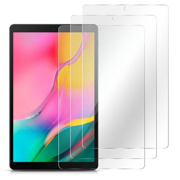 Samsung Galaxy Tab A 10.1 2019 Schutzfolie Displayschutz Panzerfolie 3x Folie  – Bild 2
