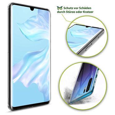 Hülle Bumper Huawei P30 Pro Tasche Schutzhülle Case Silikon Transparent Schale – Bild 6