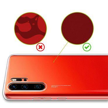Hülle Bumper Huawei P30 Pro Tasche Schutzhülle Case Silikon Transparent Schale – Bild 7