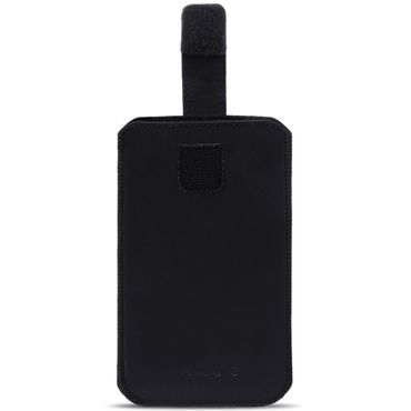 Schutzhülle Samsung Galaxy S10 Leder Hülle Handy Tasche Pull Tab Sleeve Schwarz – Bild 3