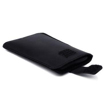 Schutzhülle Samsung Galaxy S10e Leder Hülle Handy Tasche Pull Tab Sleeve Schwarz – Bild 8