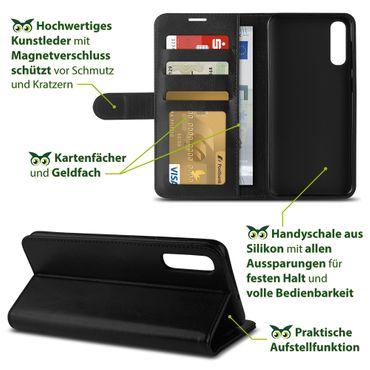 Hülle Samsung Galaxy A20e A40 A50 S10 / Plus S10e Tasche Flip Case Schutzhülle  – Bild 21
