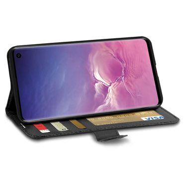 Hülle Samsung Galaxy A20e A40 A50 S10 / Plus S10e Tasche Flip Case Schutzhülle  – Bild 24