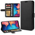 Hülle für Samsung Galaxy A20e Tasche Schutz Flip Case Klapp Cover Schutzhülle  001