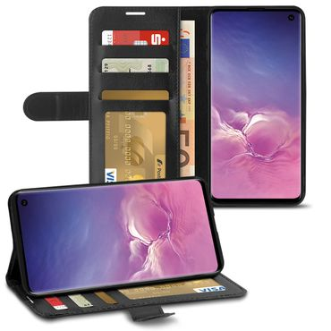 Schutzhülle Samsung Galaxy A20e A40 A50 A70 S10 S9 S8 Hülle Handy Tasche Schwarz – Bild 11