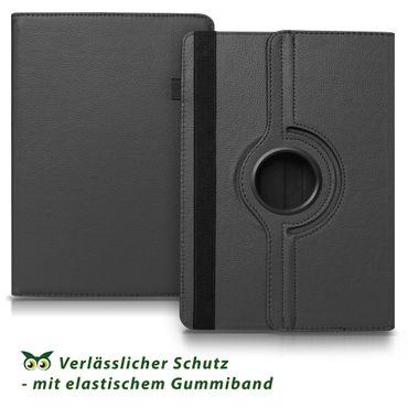 Hülle Medion Lifetab E10414 Tasche Schutzhülle Cover Case 360° Drehbar Schwarz – Bild 6