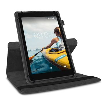 Tasche Medion Lifetab E10414 Hülle Schwarz Schutzhülle Tablet Case 360° Drehbar  – Bild 5
