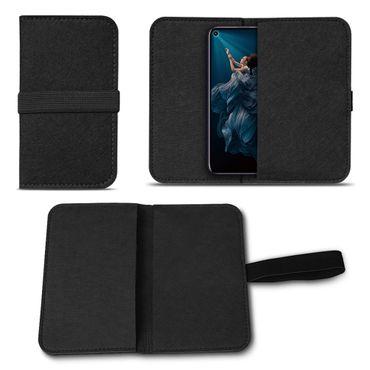Filz Tasche für Huawei Honor 20 Pro Handy Hülle Schutz Cover Case Schutzhülle – Bild 2