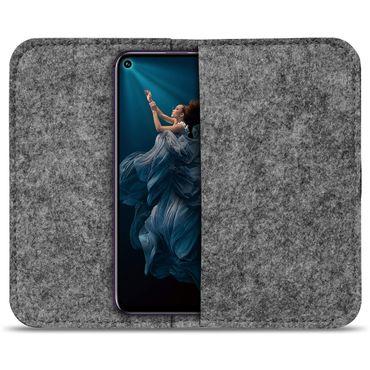 Handy Tasche für Huawei Honor 20 Pro Filz Hülle Schutzhülle Schutz Sleeve Case – Bild 9