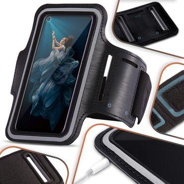 Schutzhülle Huawei Honor 20 Pro Handy Hülle Tasche Jogging Fitness Case Cover – Bild 1