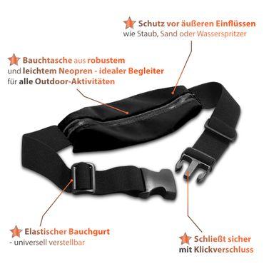 Handy Hülle Huawei Honor 20 Pro Tasche Schwarz Schutzhülle Jogging Fitness Case – Bild 6