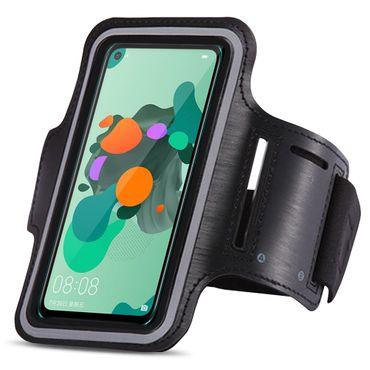 Handy Hülle Huawei Mate 30 lite Tasche Schwarz Jogging Fitness Case Schutzhülle – Bild 3